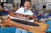 Otvorenje izložbe maketa brodova Rolanda Vlahovića ovog ponedjeljka u Gervaisu