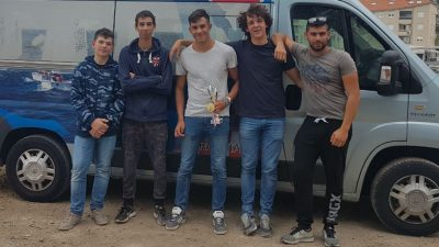 Antonio Lukšić prvi u klasi Laser Radial u kategoriji do 17 godina