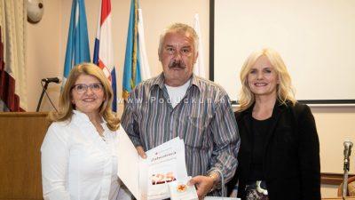 Održana svečana dodjela nagrada višestrukim darivateljima krvi – Siniša Jovanović darivao krv 125 puta @ Matulji