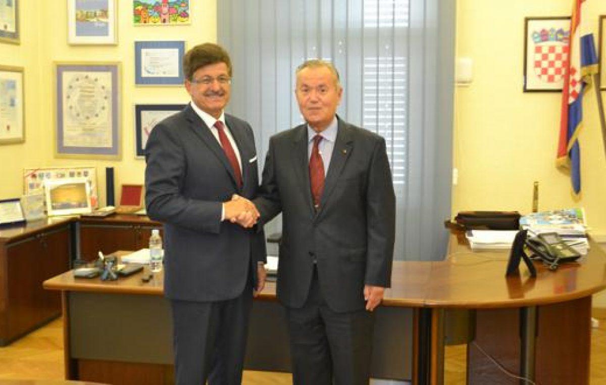 Posjet rumunjskog veleposlanika gradu Opatiji