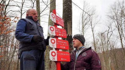 FOTO Devet mjeseci rada privedeno kraju – Postavljeni putokazi na obilaznici Lisinski put