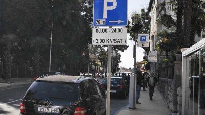 Opatija 21 definirala nove uvjete parkinga – Tijekom sezone naplata se produžuje do ponoći