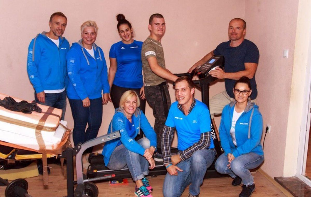 Torpedo runners u humanoj akciji: Eriku Marčeti donirali traku za trčanje @ Lovran