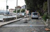 Sutra počinje sanacija oštećene prometnice u Voloskom