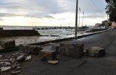 Orkansko jugo ostavilo apokaliptične prizore @ Volosko, Opatija