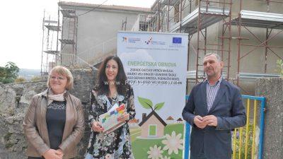 """FOTO Uskoro završena energetska obnova i uređenje dječjeg vrtića – Mališani """"useljavaju"""" za mjesec dana @ Veli Brgud"""