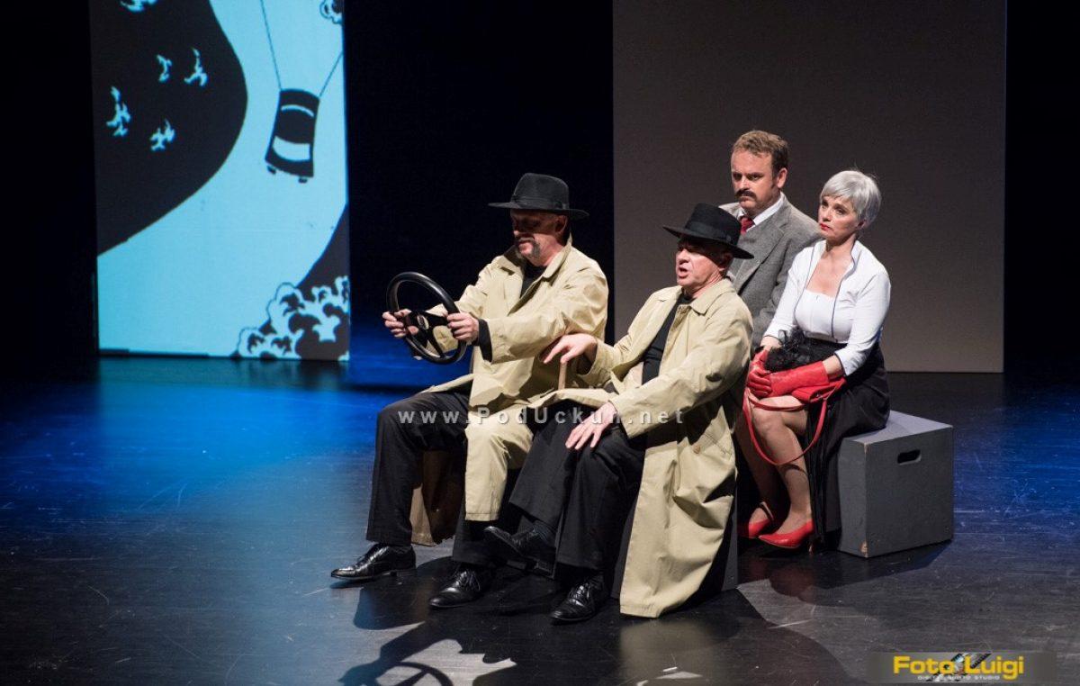 Noć kazališta – Predstava '39 stepenica' gostovala u Gervaisu @ Opatija
