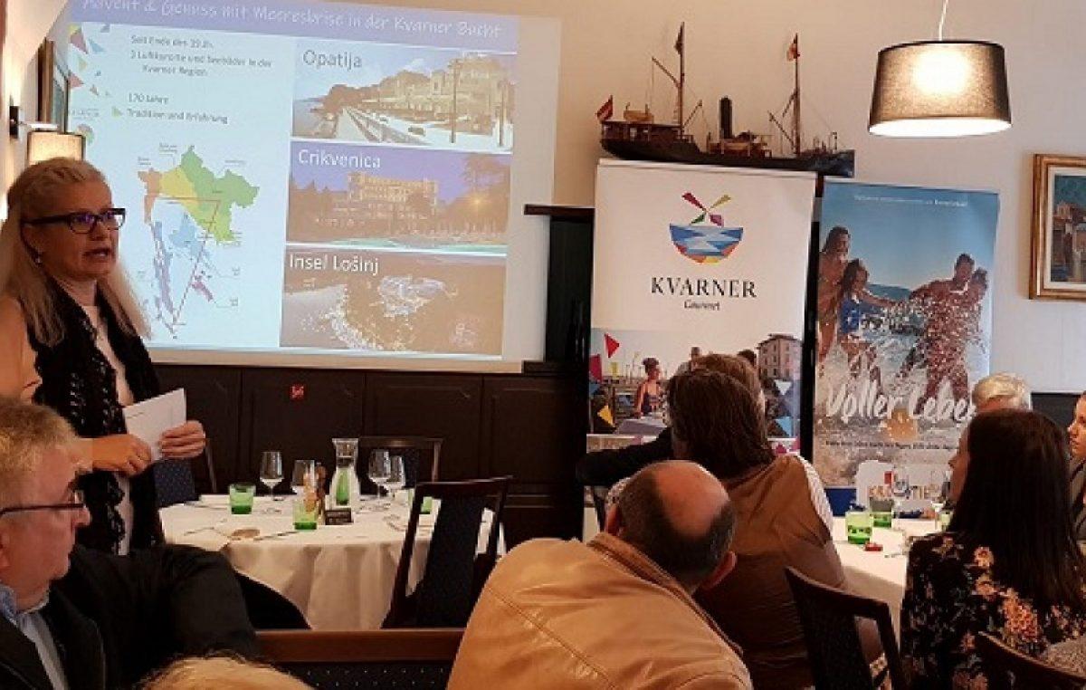 Kvarner predstavio svoju turističku i gastronomsku ponudu austrijskim novinarima i turističkim djelatnicima