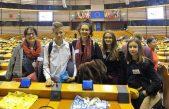 U OKU KAMERE: Predstavnici Dječjeg gradskog vijeća Grada Opatije u Europskom parlamentu