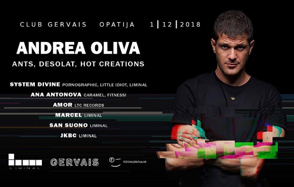 Jedan od najvećih hrvatskih DJ partyja 1. prosinca u opatijskom klubu Gervais!