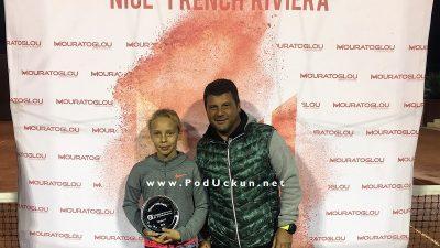 Dora Biondić pobjednica Mouratoglou Ten-Pro Global Junior Tour turnira do 11 godina u Nici