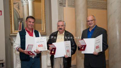 Roberto Žigulić, Gino Krota i Darko Krušvar primili visoko državno odličje za svoju humanost