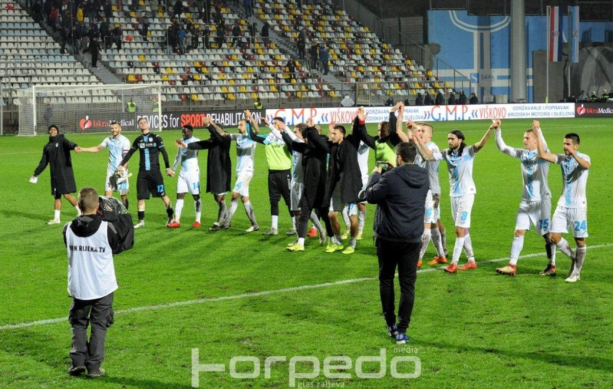 FOTO NK Rijeka pobijedila Lokomotivu i preuzela drugo mjesto!