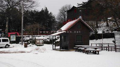 VIDEO Prvi snijeg stvorio savršenu kulisu za zimske radosti @ Učka
