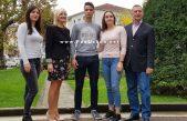 Nagrađeni Adrijan Hržić i Kristina Vuković, mladi sportaši s velikim rezultatima @ Matulji