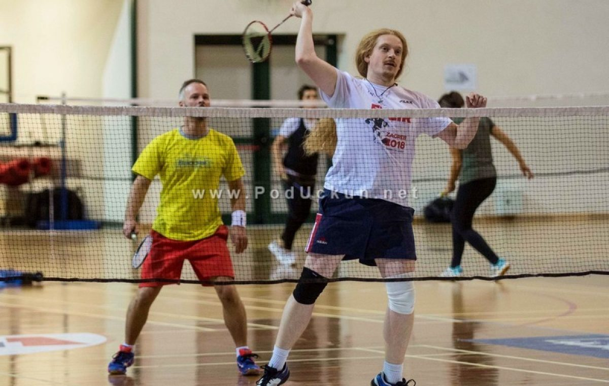 12. Hrvatski festival sportske rekreacije u badmintonu ove subote u dvorani Marino Cvetković