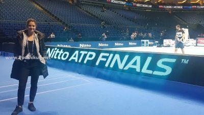 Anja Vreg u organizaciji teniskog Mastersa u Londonu