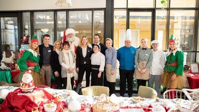 Više od stotinu mališana na tradicionalnom doručku s Djedom Mrazom u Amadria Park hotelima