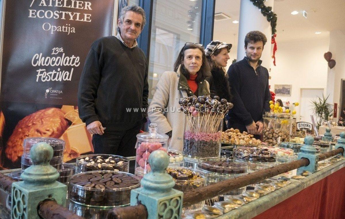 FOTO Počeo je Festival čokolade @ Opatija