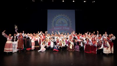 Folklorni ansambl Zora svečanim koncertom proslavio 70. rođendan