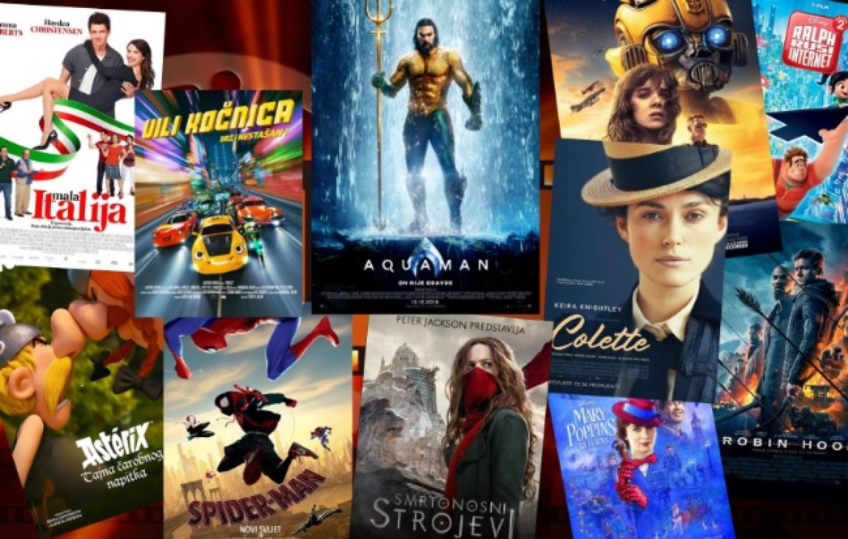 "Prosinac u Kinu Sloboda – Bogat program projekcija i premijera hit filma ""Aquaman"" @ Lovran"
