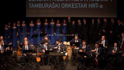 """FOTO, VIDEO: Svečanim koncertom Klape Kastav i Tamburaškog orkestra HRT-a predstavljen zajednički """"live"""" album"""