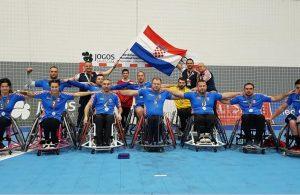 Nirvana Moschella članica Hrvatske rukometne reprezentacije u kolicima osvojila srebrnu medalju @ Portugal