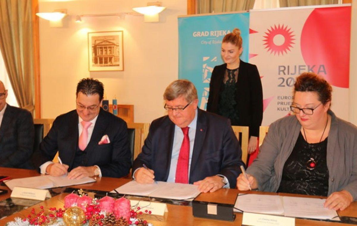 """HNK Rijeka i Grad Rijeka potpisali suradnju u projektu """"One City, one goal"""""""