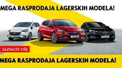 Velika rasprodaja lagera u PSC Primorje – Kupite novi Opel uz velike popuste i posebne pogodnosti
