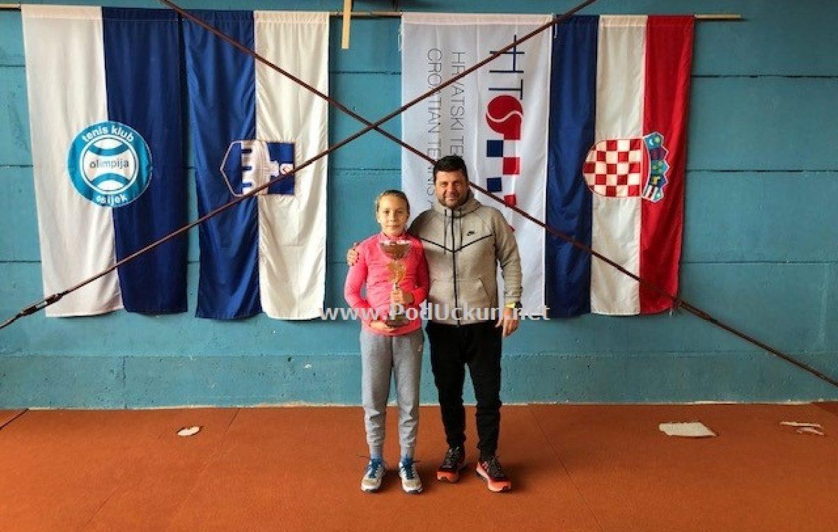 Dora Biondić dvostruka dvoranska prvakinja Hrvatske za uzrast do 12 godina