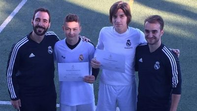 Pioniri NK Opatija – Erik Šafarek i Marko Ivanković u kampu Real Madrida