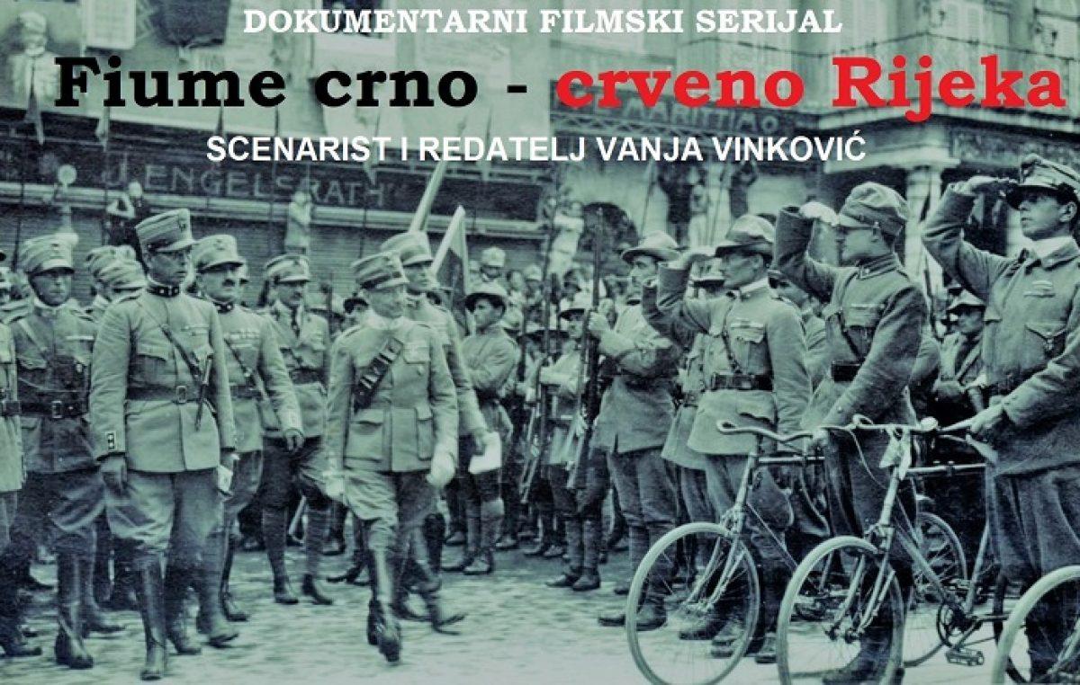 Fiume crno – crveno Rijeka : Počinje snimanje dokumentarnog filmskog serijala