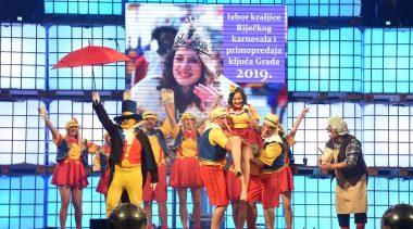 Rijeka je potpala pod vlast maškara: Nikol Marelja Bošnjak je nova Kraljica Riječkog karnevala