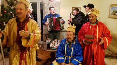 FOTO, VIDEO: Kastav i Frlanija ispunjeni dobrom voljom – Tri kralja koledvala noseći pjesmu i dobre želje sumještanima
