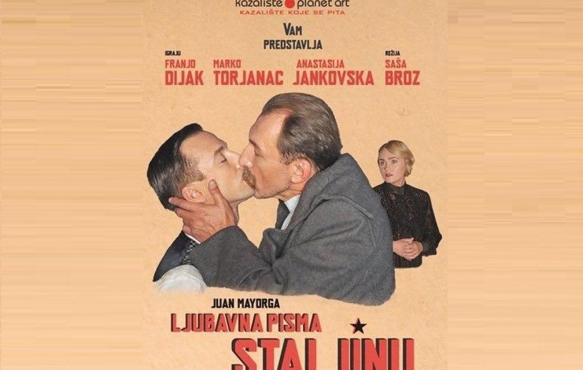 """Najnovijom predstavom """"Ljubavna pisma Staljinu"""" kazališta Planet Art Festival Opatija otvara kazališnu sezonu"""