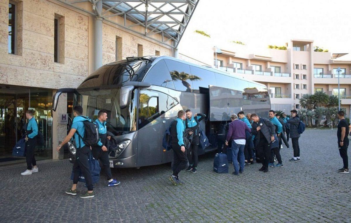 Nogometaši Rijeke doputovali u Albufeiru: 'U Portugalu imamo odlične uvjete'