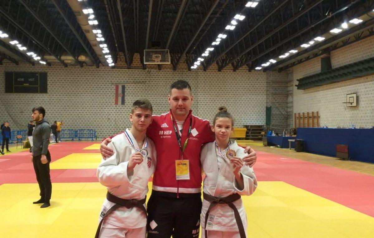 Lara Šušnić zlatna, Luka Viljušić srebrni na Prvenstvu Hrvatske za kadetkinje i kadete @ Split
