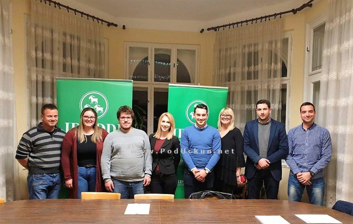 Klub mladih IDS-a Liburnije obilježio 15. obljetnicu osnutka i predstavio novo vodstvo