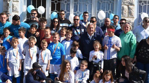 FOTO Čolak i Lončar zaokružili akciju udruge Vavik vjerna Kirija u Centru Izvor Selce
