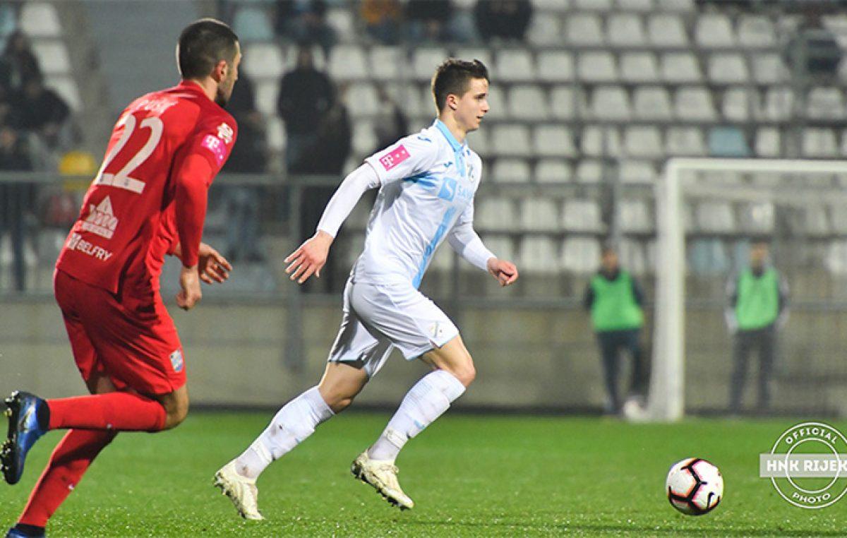HNK Rijeka: Ivan Lepinjica pozvan u U20 reprezentaciju Hrvatske