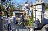 VIDEO/FOTO KN Armada Rijeka počeo s uređenjem dijela lokaliteta Dječje bolnice Kantrida