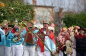 Na Pusni ponedejak Brežanski zvončari održali svoj tradicionalni pohod