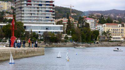 FOTO, VIDEO Zbog pomanjkanja vjetra Otvoreno prvenstvo hrvatske za klasu IOM 2019. nije se održalo @ Opatija