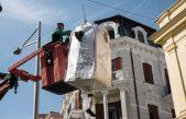Signor Separato non reciklato con konsiljeri šal je va povijest