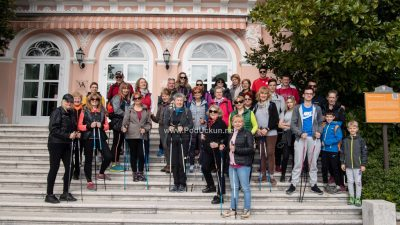 FOTO Održana nordijska šetnja do Veprinca i nezaobilazni trening s Mariom Mlinarićem @ Opatija
