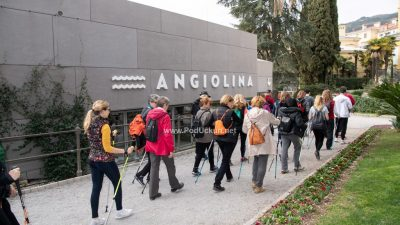 Održana nordijska šetnja do Veprinca i nezaobilazni trening s Mariom Mlinarićem @ Opatija