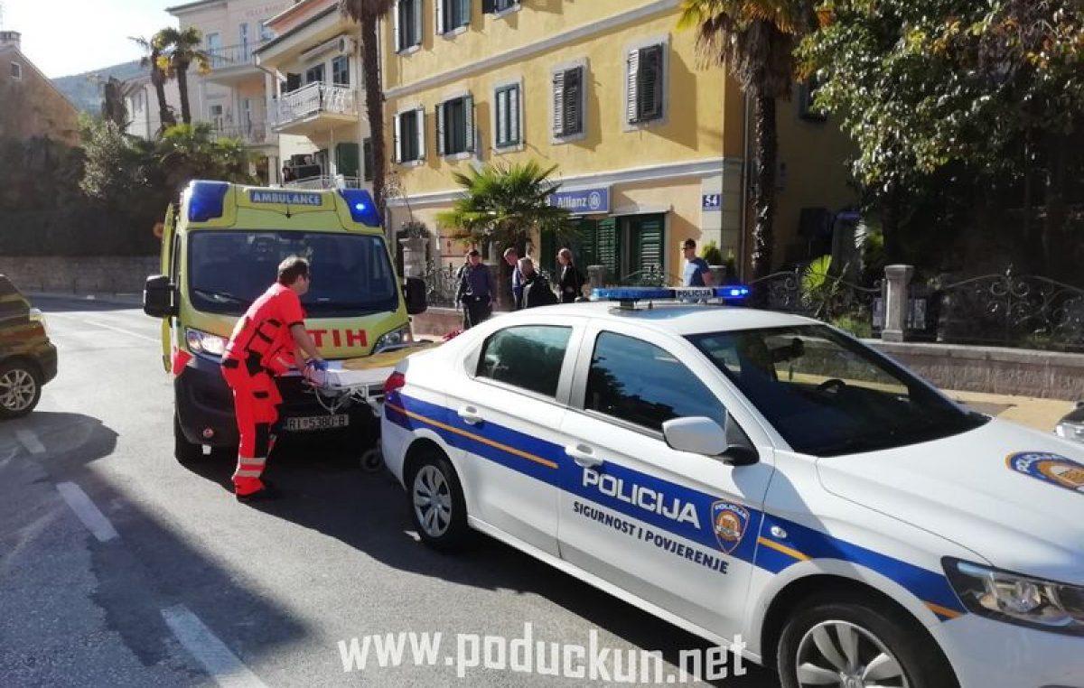 Teška nesreća u centru Opatije blokirala promet – stvorene kilometarske kolone prema Voloskom