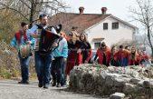 Rukavački zvončari po užance obahajali kuće svojga komuna @ Rukavac