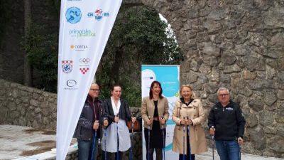 Ove se subote u Opatiji održava 7. Hrvatski festival sportske rekreacije u nordijskom hodanju i pješačenju