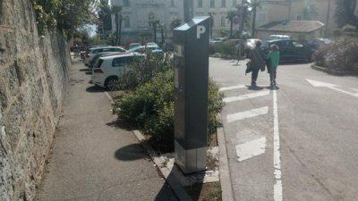 U OKU KAMERE Nova četiri parkirna aparata u funkciji @ Opatija
